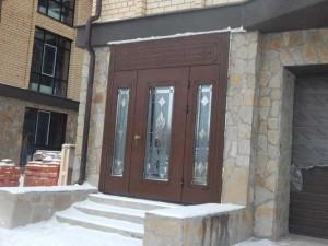 Установленная дверь ЭЛИТ класса 4