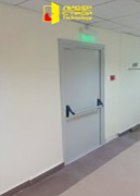 Изготовление и установка противопожарных дверей EI-60 В Деловом офисном центре.