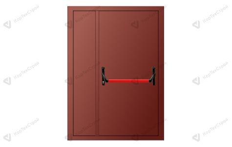 Полуторапольная дверь с антипаникой EIS-60