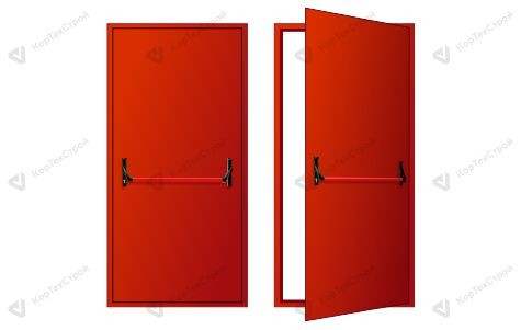 Однопольная дверь дым/газ EIS-60