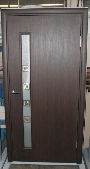 Межкомнатная дверь пластиковая из вспененного ПВХ